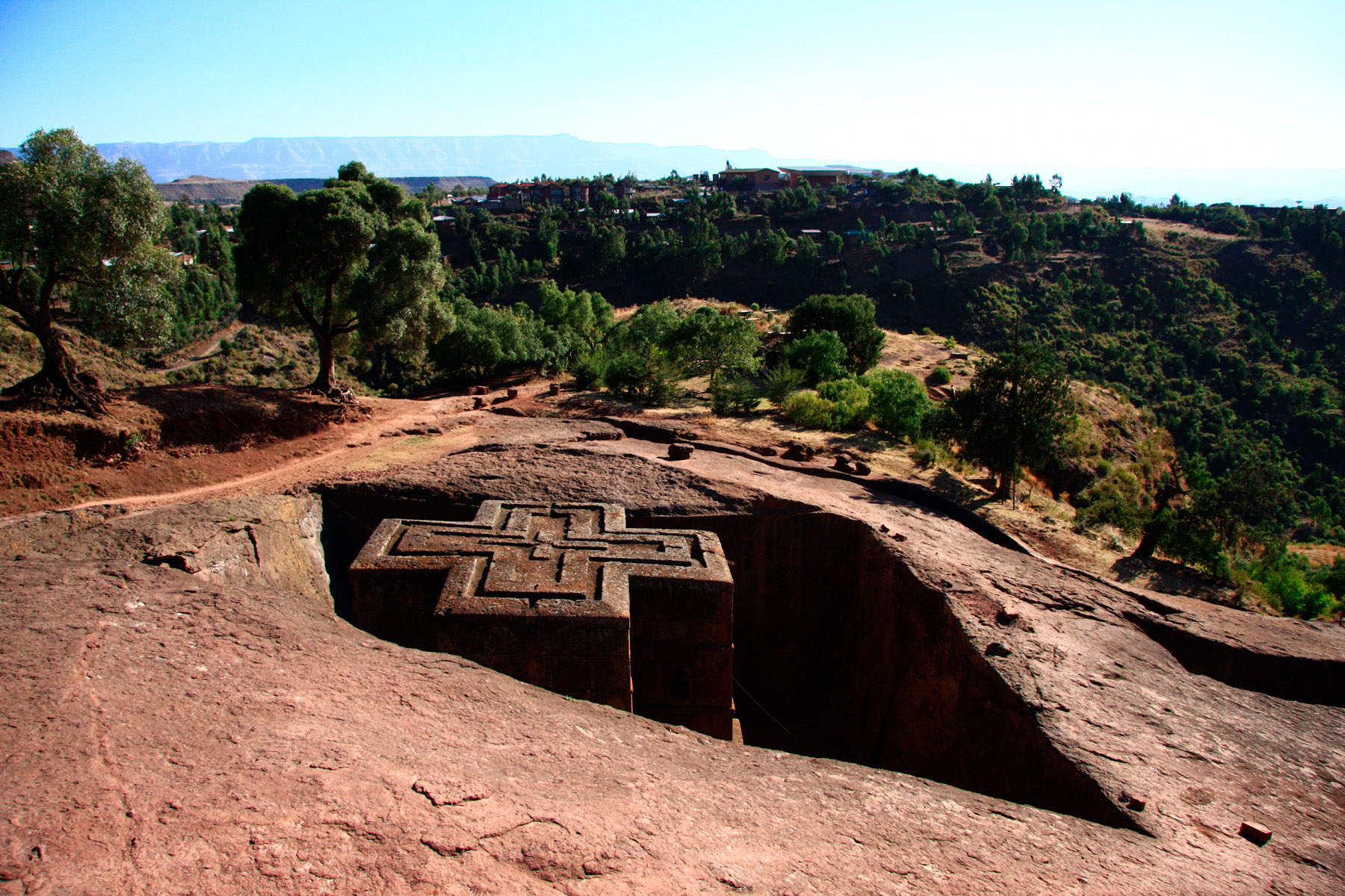 Lalibela, famous for its rock-hewn churches — Photo: George Woodrow