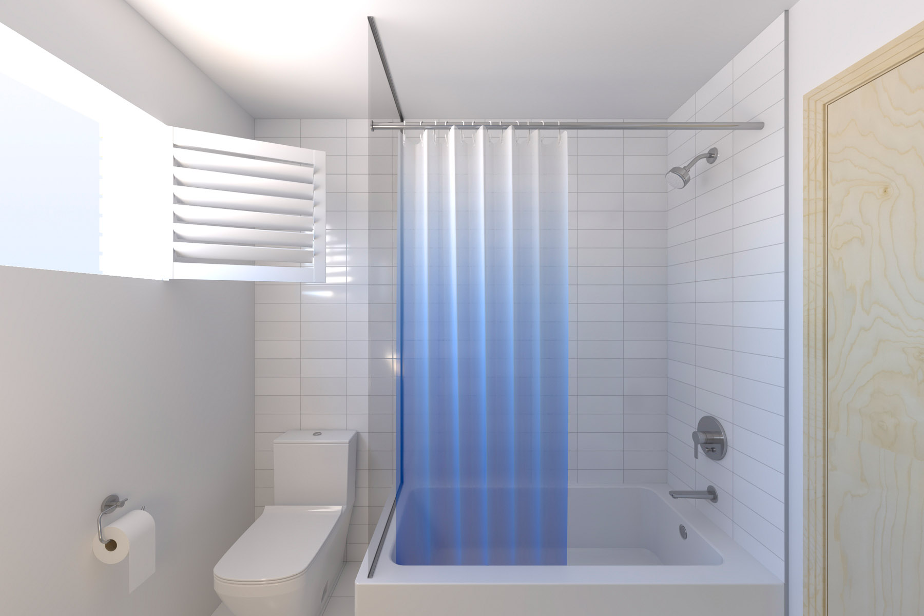 Visualisation of the proposed bathroom