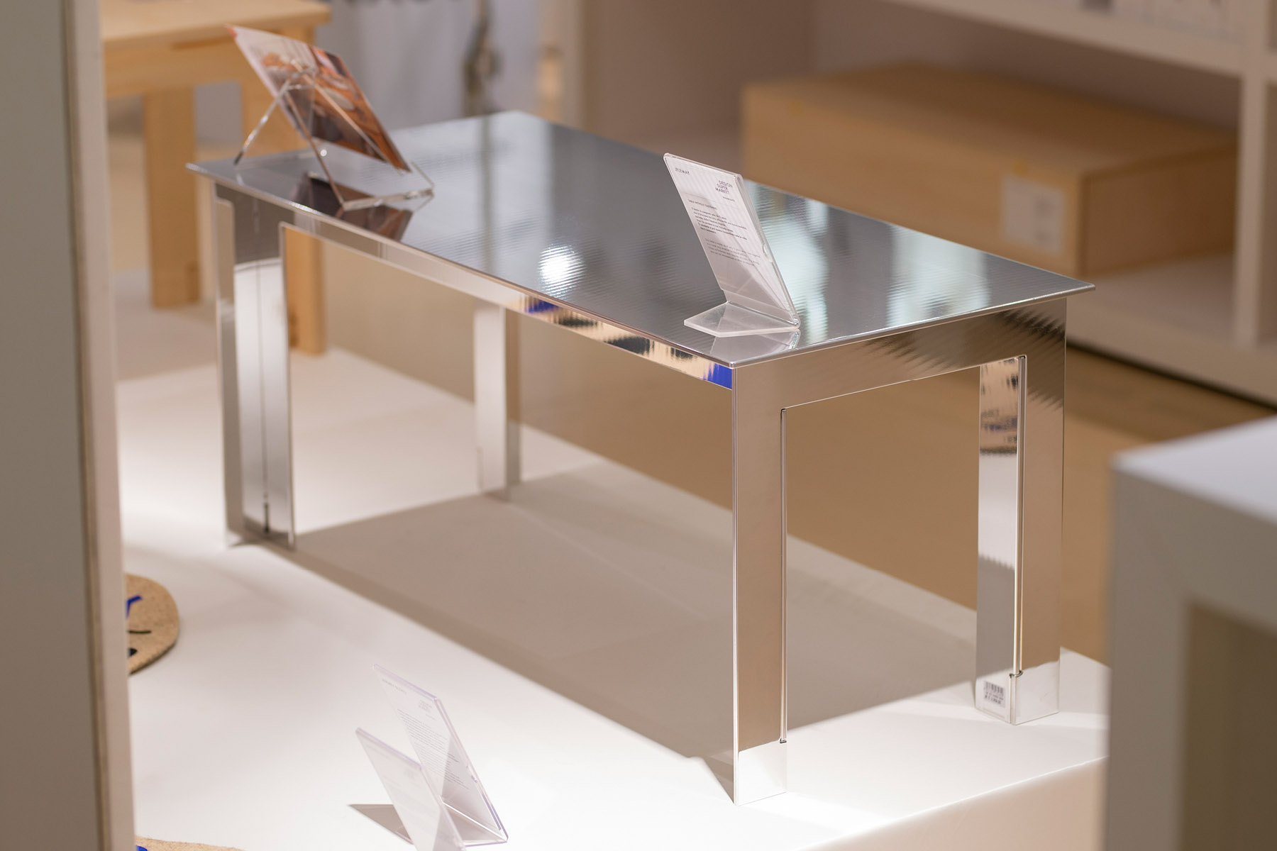 Jflemay's coffee table without fasteners in aluminium